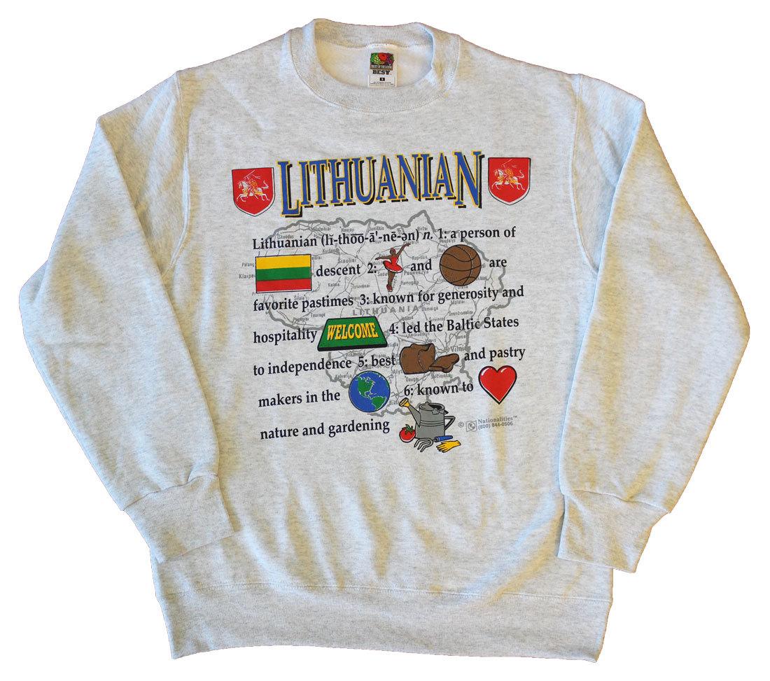 Lithuania definition sweats