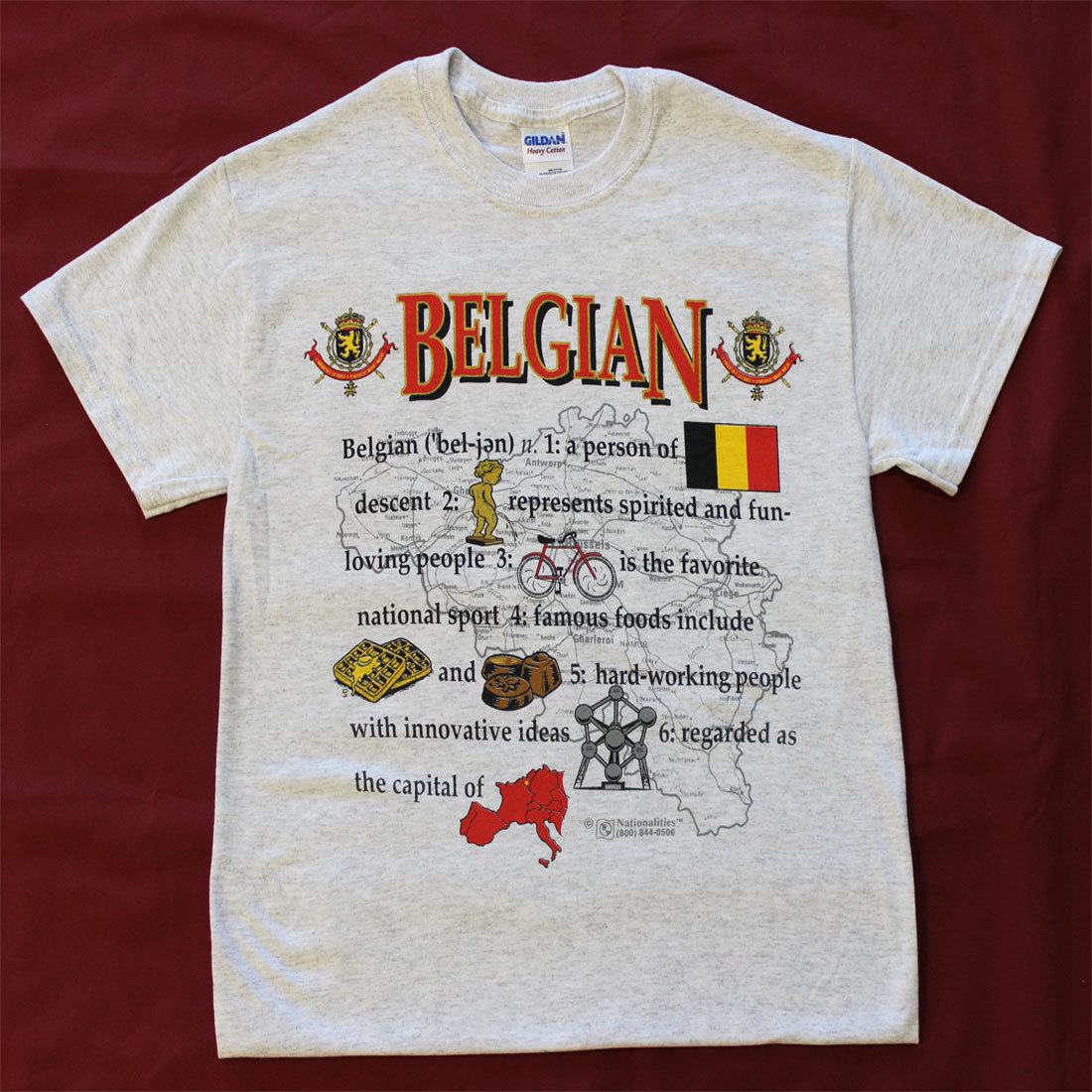 Belgium Definition T-Shirt (S)