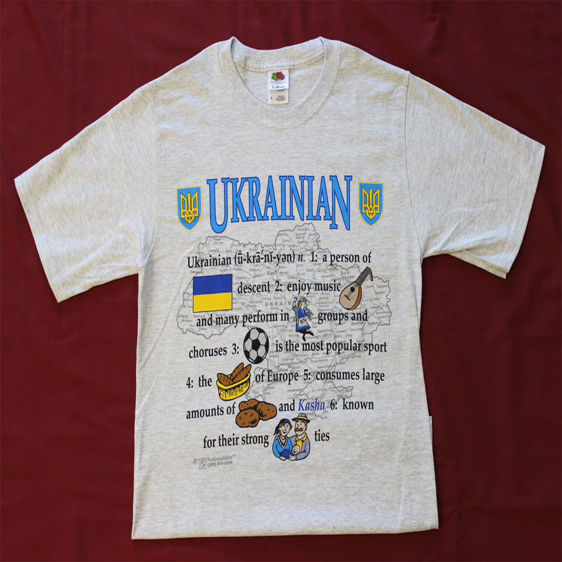 Ukraine Definition T-Shirt (XXL)