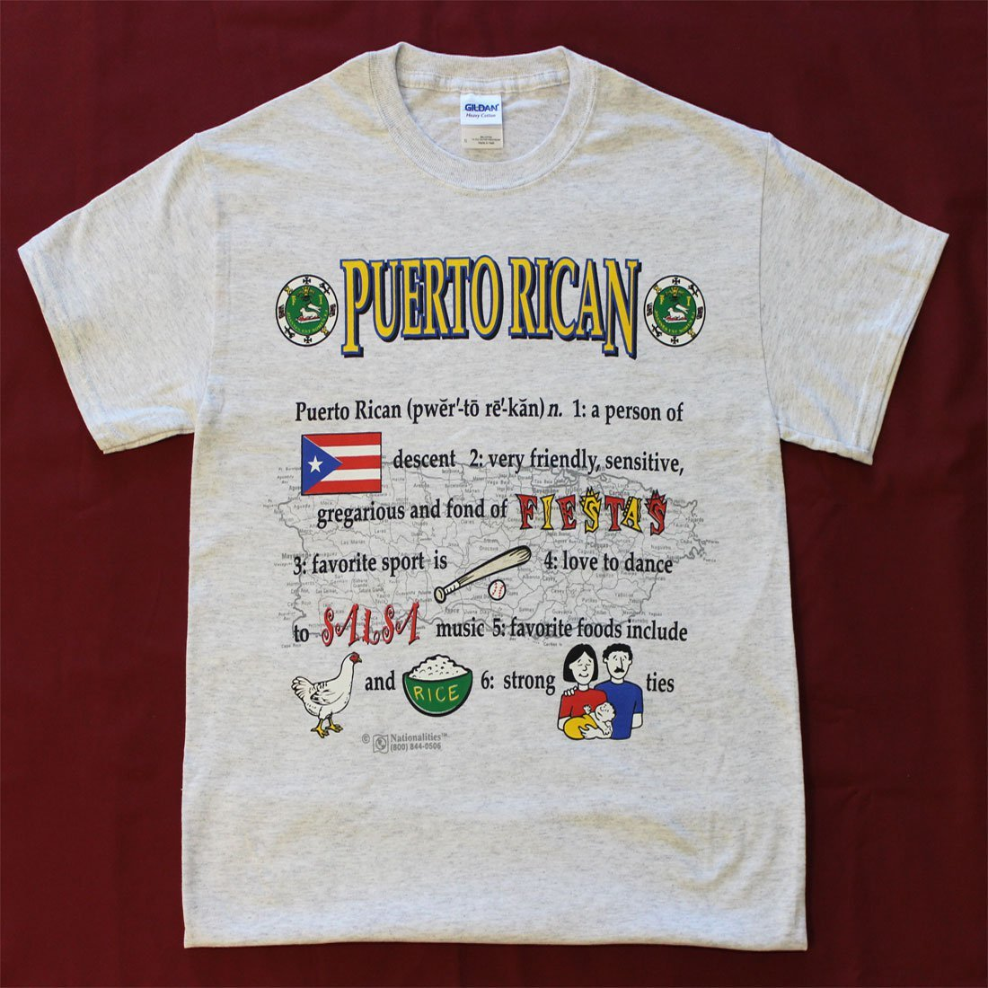 Puerto Rico Definition T-Shirt (S)