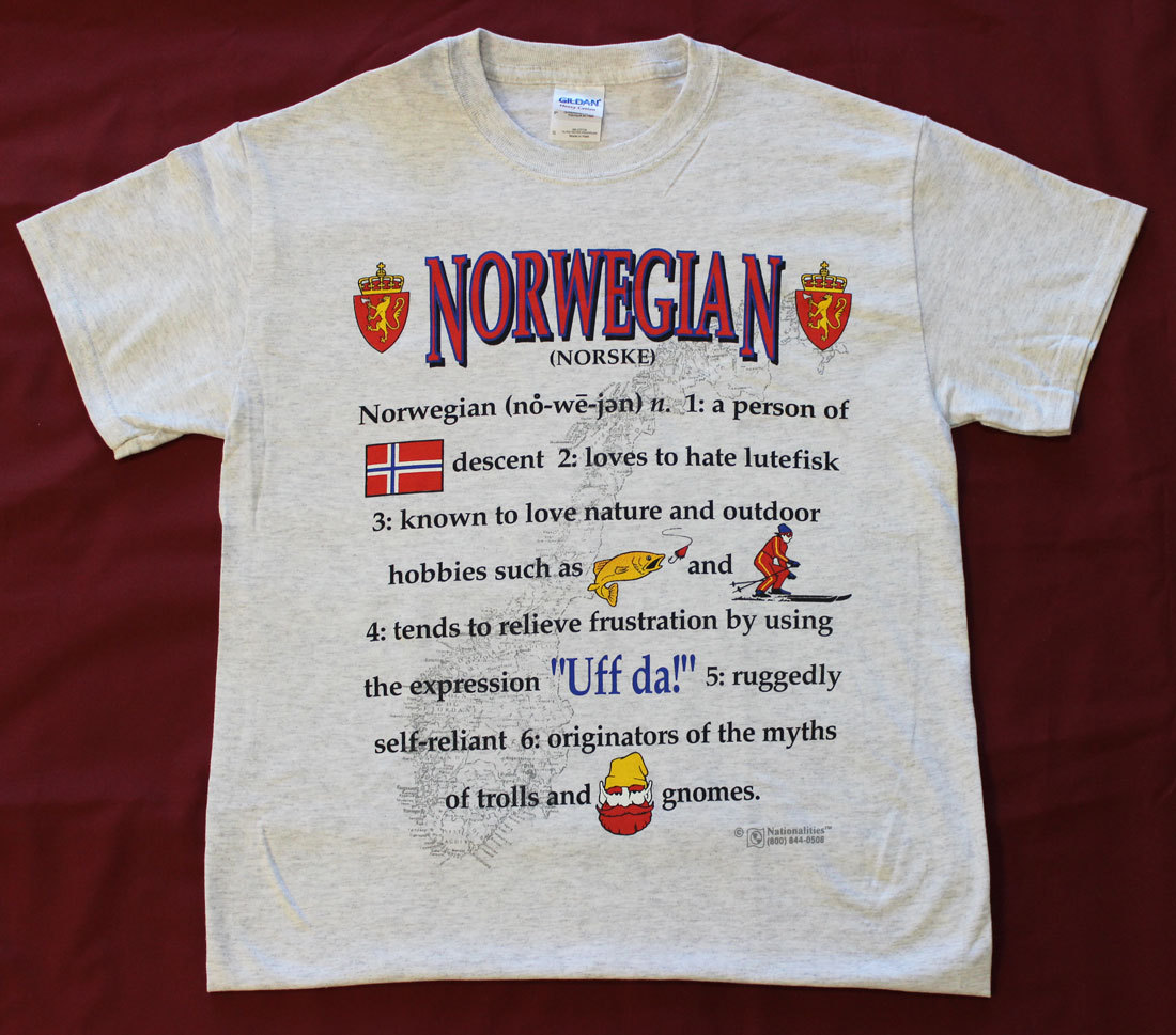 Norway Definition T-Shirt (L)