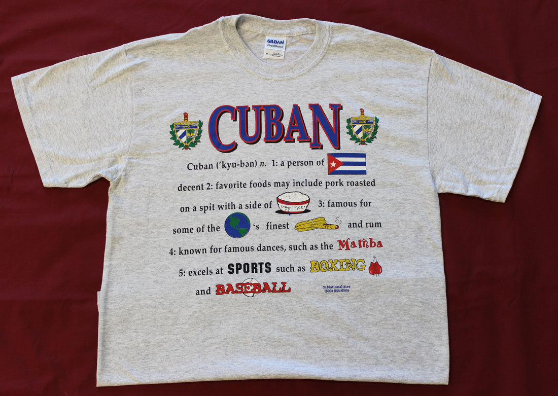 Cuba Definition T-Shirt (XL)