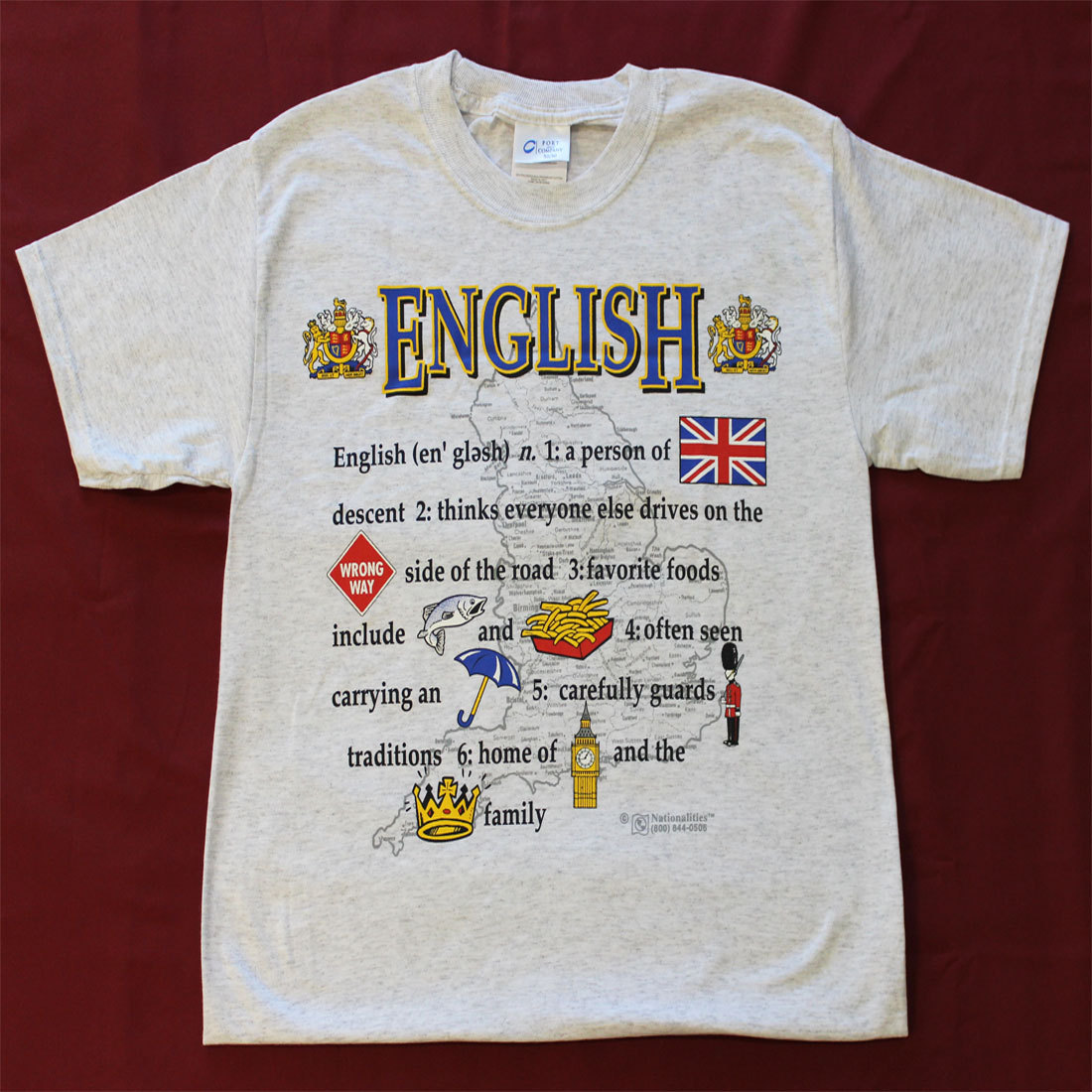 United Kingdom Definition T-Shirt (XL)