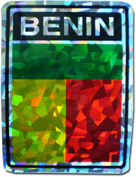 Benin Reflective Decal