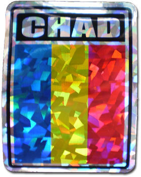 Chad Reflective Decal