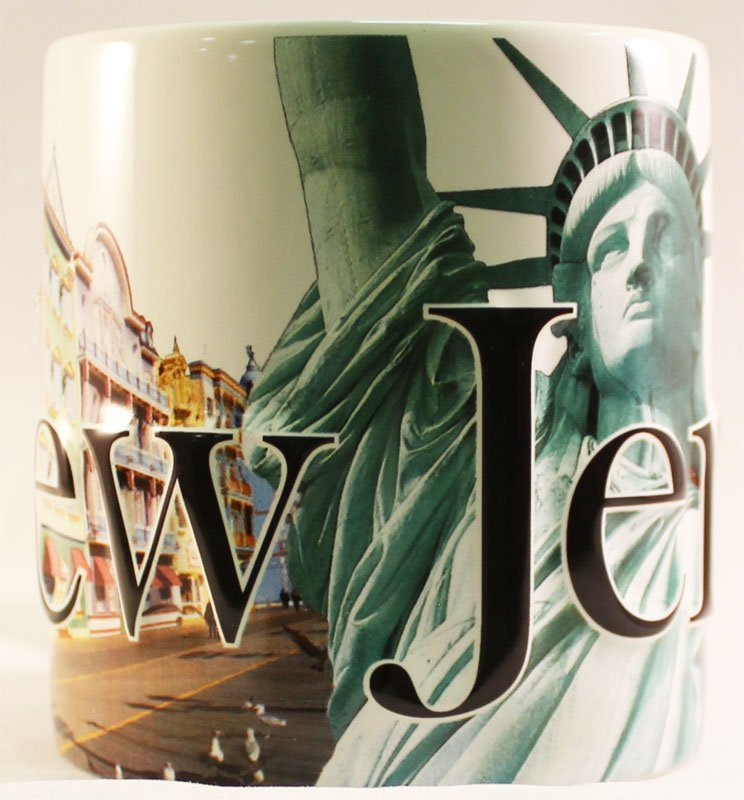 New Jersey - 18 oz. Coffee Mug