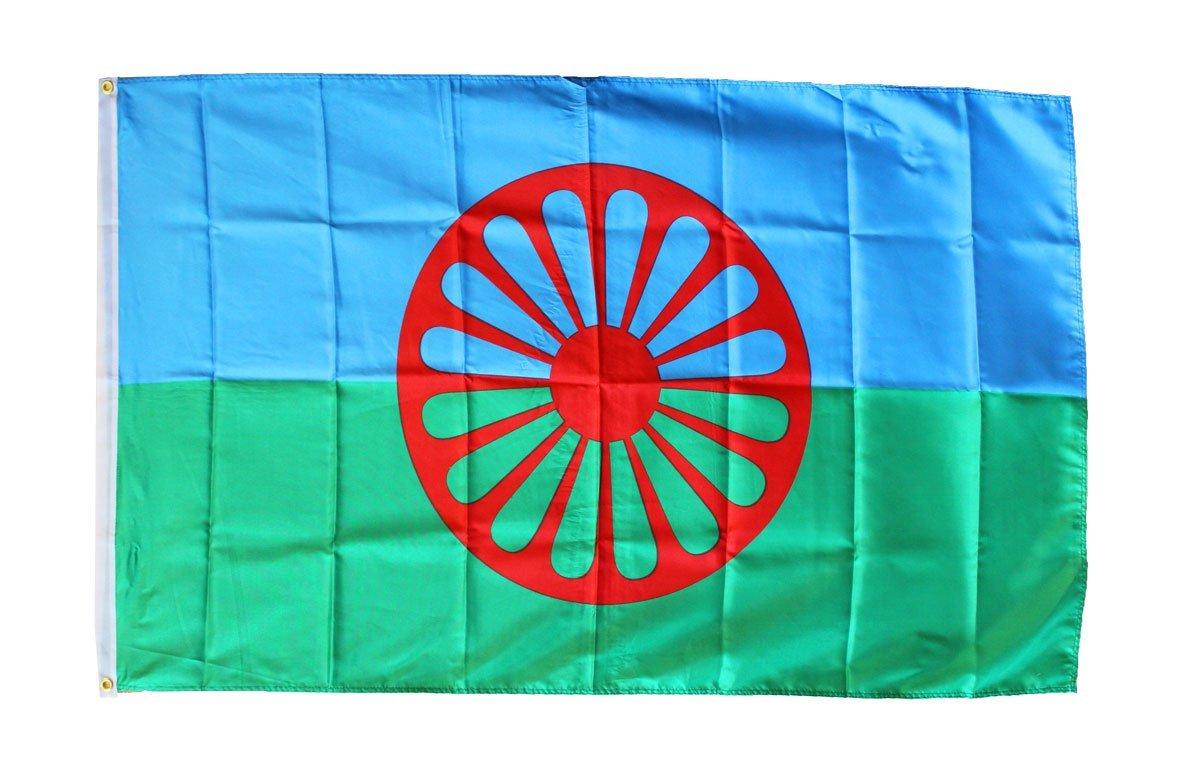 Romani 3x5 poly flag