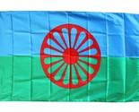 Romani 3x5 poly flag thumb155 crop