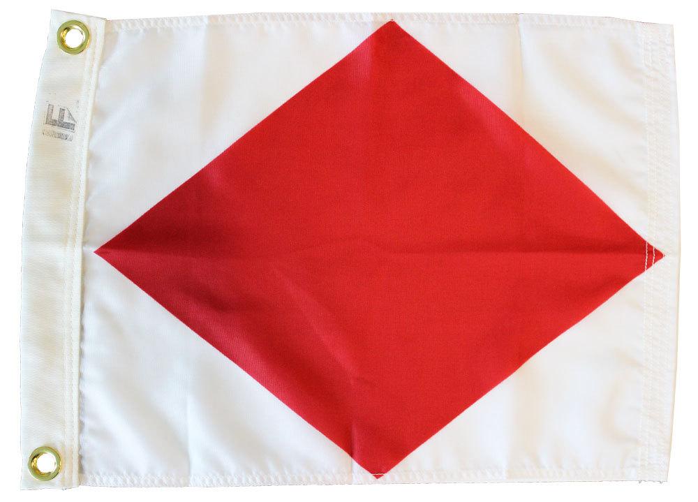 Nautical letter f 12x15 3