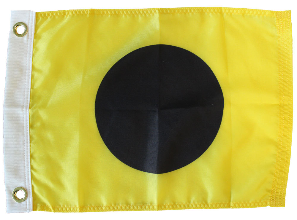 Letter I -  Nautical Code Signal Nylon Flag