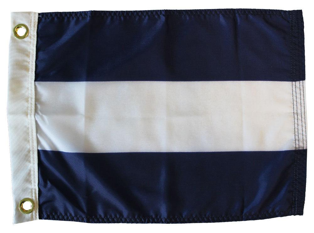 Nautical letter j 12x15 dye