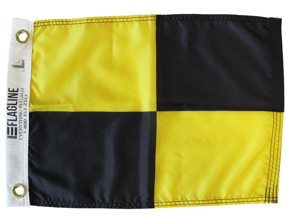 Nautical letter l 12x15 dye 2