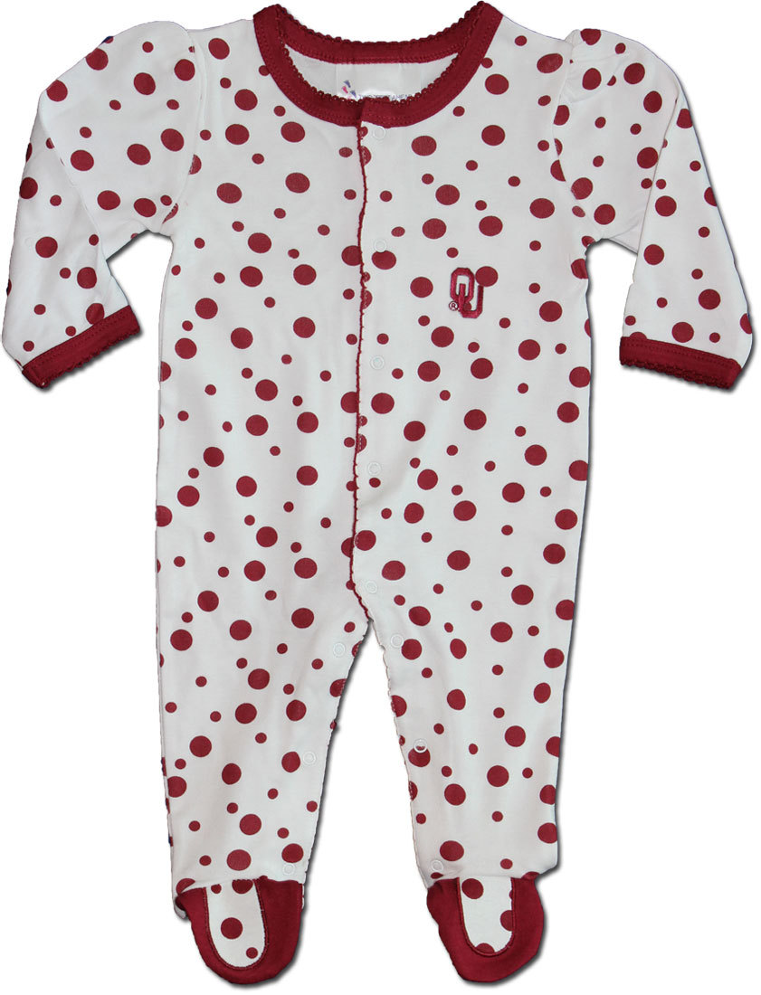 University of Oklahoma - Polka Dot Footed Creeper (6 Month)