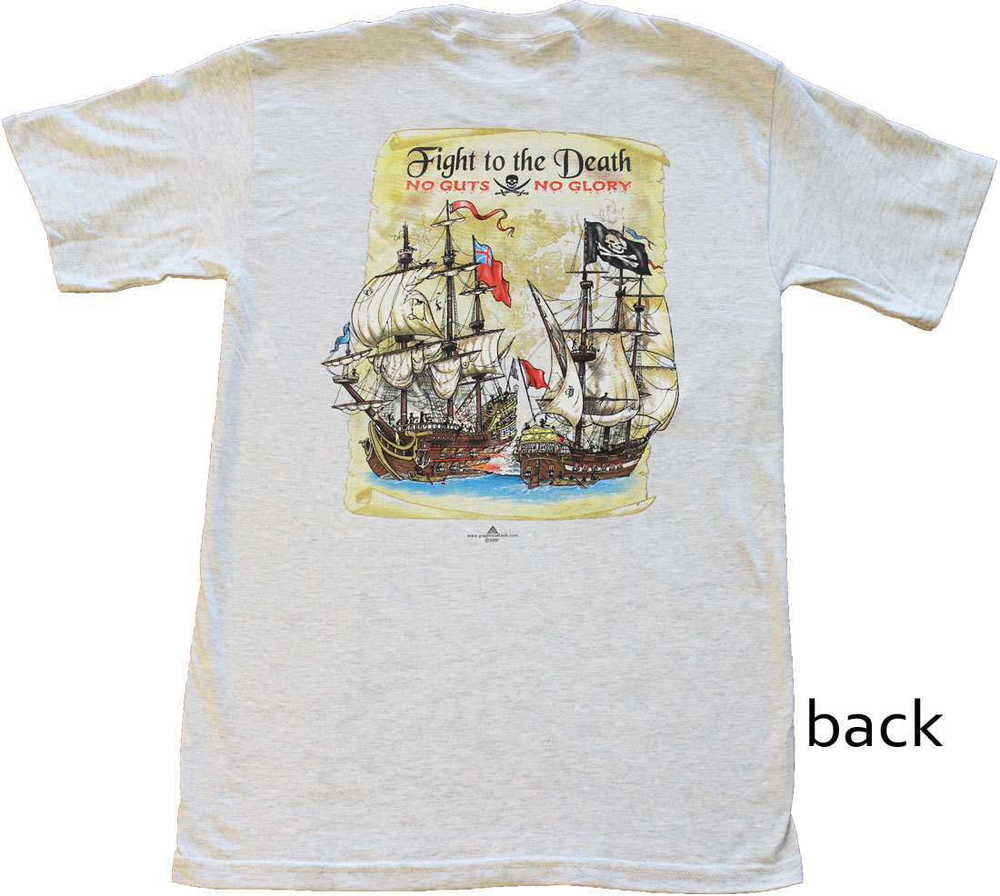 Fight to the Death Cotton T-Shirt (L)