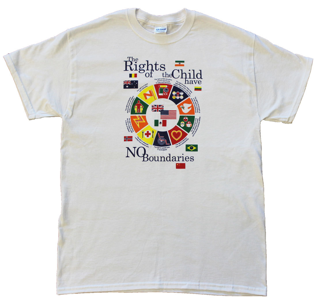 Rights of A Child T-Shirt (L)
