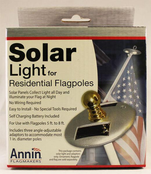 Solar Light for Residential Flagpoles