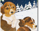 Beagle snow f thumb155 crop
