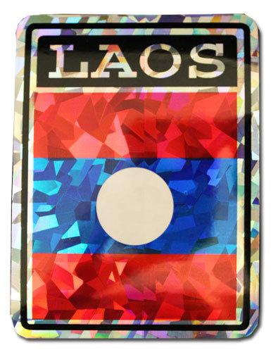 Laos Reflective Decal