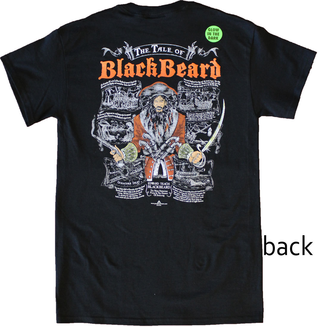 Tale blackbeard shirt back 0