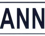 Anna license plate thumb155 crop