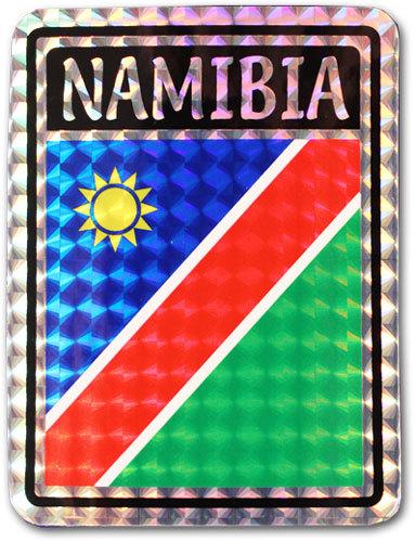 Namibia reflective decal