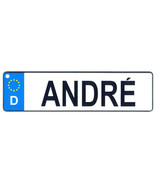 Andre - European License Plate (Germany) - $9.00