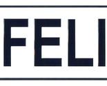 Felix license plate thumb155 crop
