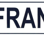 Frank license plate thumb155 crop