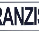 Franziska license plate thumb155 crop