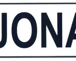 Jonas license plate thumb155 crop