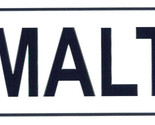 Malte license plate thumb155 crop