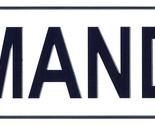 Mandy license plate thumb155 crop