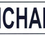 Michaela license plate thumb155 crop