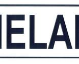 Melanie license plate thumb155 crop