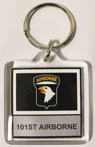 101st airborne keyring