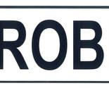 Robin license plate thumb155 crop