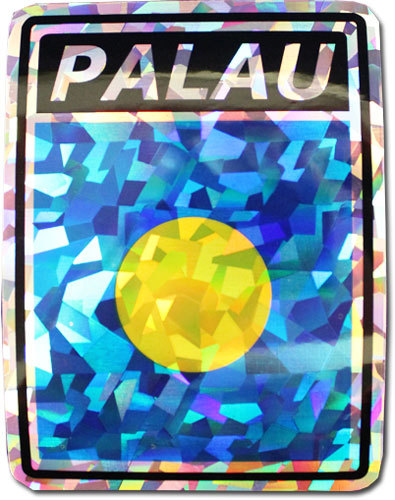 Palau reflective decal