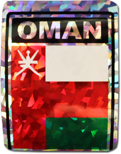 Oman reflective decal