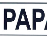 Papa license plate thumb155 crop