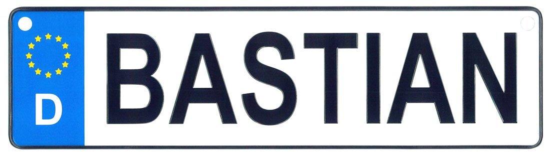 Bastian license plate