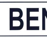 Ben license plate thumb155 crop