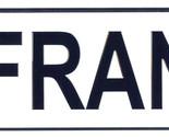 Franz license plate thumb155 crop