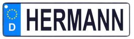 Hermann license plate thumb200