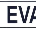 Eva license plate thumb155 crop