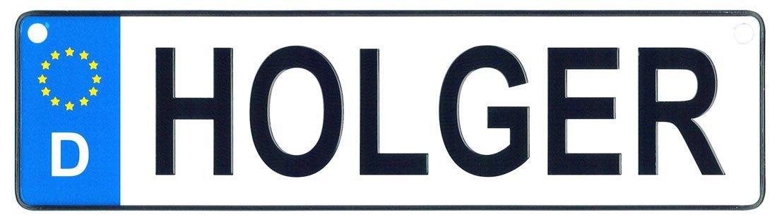 Holger license plate
