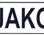 Jakob license plate thumb155 crop