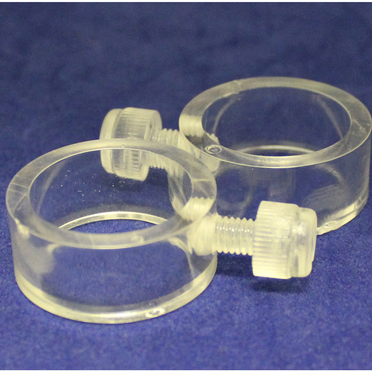 Rings clear 1inch