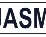 Jasmin license plate thumb155 crop