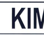 Kim license plate thumb155 crop