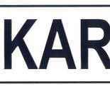 Karl license plate thumb155 crop